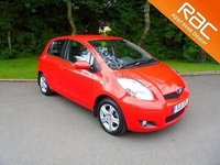 2011 TOYOTA YARIS 1.3 VVT-i Only 27.000 Miles F.S.H £3995.00