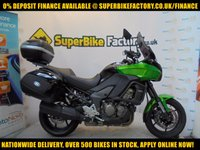 USED 2014 14 KAWASAKI VERSYS 1000CC 0% DEPOSIT FINANCE AVAILABLE GOOD & BAD CREDIT ACCEPTED, OVER 500+ BIKES IN STOCK