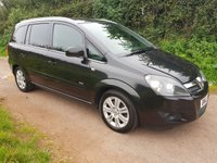 USED 2012 12 VAUXHALL ZAFIRA 1.7 DESIGN NAV CDTI ECOFLEX 5d 108 BHP **LOVELY CONDITION**SUPERB DRIVE**