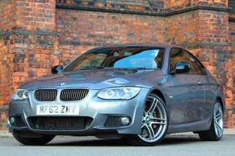 2012 BMW 3 SERIES 3.0 335i M Sport DCT 2dr £15977.00
