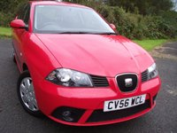 2006 SEAT IBIZA 1.4 STYLANCE 16V 3d 85 BHP   ** 1 PREVIOUS OWNER , ONLY 36 K  ** £2495.00