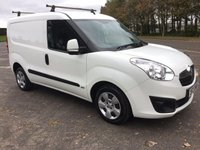 USED 2014 VAUXHALL COMBO 1.2 2000 L1H1 CDTI S/S SPORTIVE 1d 90 BHP MINT CONDITION THROUGHOUT, PSV AUGUST 2018
