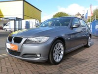 """USED 2009 09 BMW 3 SERIES 2.0 318I SE 4d  FULL BMW HISTORY ~ 17"""" ALLOYS ~ CLIMATE CONTROL ~ PART LEATHER ~ REAR PARK SENSORS"""
