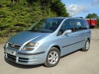 USED 2003 52 FIAT ULYSSE 2.2 ELEGANZA JTD 16V 5d 127 BHP SPACEOUS DIESEL 7 SEATER+MOT MARCH 2018