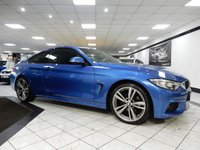 2015 BMW 4 SERIES 420D M SPORT AUTO 181 BHP £19925.00