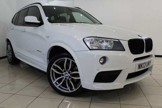 View our 2013 13 BMW X3 2.0 XDRIVE20D M SPORT 5DR AUTOMATIC 181 BHP