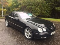 2001 MERCEDES-BENZ CL 5.8 CL 600 2d 363 BHP £2999.00