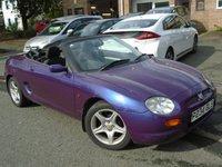 1997 MG MGF 1.8 VVI 2d 118 BHP £895.00