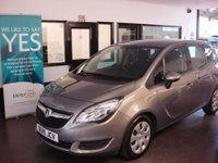 USED 2015 15 VAUXHALL MERIVA 1.4 EXCLUSIV AC 5d AUTO 118 BHP YES...ONLY 4011 miles!! This Fully Automatic Meriva is finished in Metallic pepper dust with Black cloth seats. It is fitted with power steering, remote locking, electric windows and mirrors, air conditioning, cruise control, front and rear parking sensors, alloy wheels, CD Stereo with UBS/Aux port and more. It has had two owners and comes with a full service history which are Vauxhall. It benefits from Vauxhall Warranty until 24/03/2018. Finance and extended warranties are available.