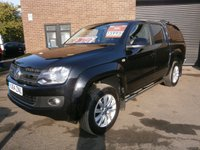 USED 2014 64 VOLKSWAGEN AMAROK 2.0 DC TDI HIGHLINE 4MOTION 1d 178 BHP Sat Nav,Bluetooth,Leather Upholstery,Rear Canopy