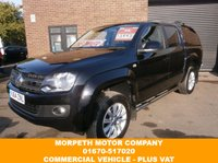 USED 2014 64 VOLKSWAGEN AMAROK 2.0 DC TDI HIGHLINE 4MOTION 1d 178 BHP *** Sat Nav,Bluetooth,Leather Upholstery,Rear Canopy ***