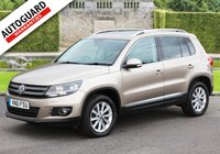 USED 2011 61 VOLKSWAGEN TIGUAN 2.0 SE TDI BLUEMOTION TECHNOLOGY 4MOTION 5d 138 BHP Finance from only £50 p/w!