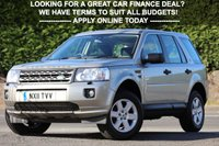USED 2011 11 LAND ROVER FREELANDER 2.2 TD4 GS 5d 150 BHP +++ FREE 6 months Autoguard Warranty included in screen price +++