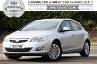 2011 VAUXHALL ASTRA 1.7 EXCITE CDTI 5d 108 BHP £SOLD