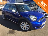 2014 MINI COUNTRYMAN 1.6 COOPER S ALL4 5d AUTO 184 BHP £15995.00