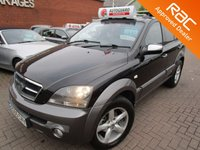 USED 2005 05 KIA SORENTO 2.5 XSE CRDI 5d 139 BHP FULL HEATED LEATHER