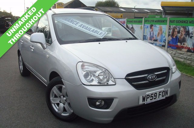 2009 59 KIA CARENS 2.0 GS CRDI 5d 138 BHP 7 SEATER MINT THROUGHOUT