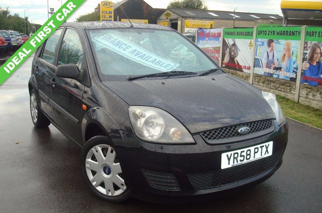 2008 58 FORD FIESTA 1.2 STYLE CLIMATE 16V 5d 78 BHP 12 MONTHS TEST
