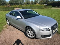 2009 AUDI A5 2.0 TFSI 3d 178 BHP Full Service History, MOT 09/18, Very Tidy Example £7449.00