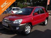 2005 KIA SPORTAGE 2.0 XE CRDI 5dr, 4 Wheel Drive, 6 Months Warranty £3290.00
