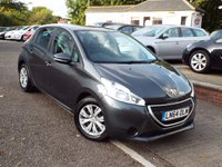 USED 2014 64 PEUGEOT 208 1.0 ACCESS PLUS 5d 68 BHP ONE Owner ZERO Rate Road Tax