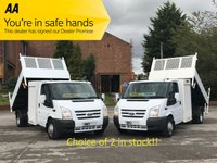 USED 2012 12 FORD TRANSIT 2.2 125 350 LWB Tipper+ Pod Toolbox Free UK Delivery,