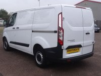 USED 2016 66 FORD TRANSIT CUSTOM 2.2 290 L1H1 P/V 99 BHP * 27000 MILES * FORD WARRANTY UNTIL OCT 2019, 1 OWNER, FULL HISTORY