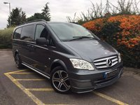 USED 2014 14 MERCEDES-BENZ VITO 3.0 SPORT-X 122 CDI DUALINER AUTO LWB Electric Side Doors, SPORT-X, Full Leather