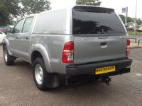 USED 2015 65 TOYOTA HI-LUX 2.5 ACTIVE 4X4 D-4D DOUBLE CAB 142 BHP * 22000 MILES * TOYOTA WARRANY TILL SEPT 2018, 22000 MILES, 1 OWNER, FULL HISTORY