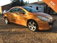 2005 PEUGEOT 307 2.0 SE COUPE CABRIOLET HDI 2d 136 BHP £1990.00