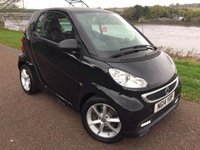 USED 2014 14 SMART FORTWO 1.0 EDITION 21 MHD 2d AUTO 71 BHP **LEATHER, POWER STEERING, REMOVABLE ROOF, ALLOYS**