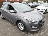 2012 HYUNDAI I30 1.6 ACTIVE BLUE DRIVE CRDI + ZERO TAX + 75+MPG  £6999.00
