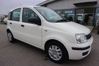 USED 2011 11 FIAT PANDA 1.2 ACTIVE 5STR 5d 69 BHP LOW DEPOSIT OR NO DEPOSIT FINANCE AVAILABLE.