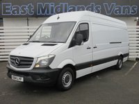 USED 2014 14 MERCEDES-BENZ SPRINTER 316 CDI LWB Hi Roof 2.1 160 BHP 2014 (14) Plate White