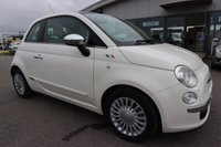USED 2008 58 FIAT 500 1.2 LOUNGE 3d 69 BHP LOW DEPOSIT OR NO DEPOSIT FINANCE AVAILABLE.