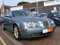 USED 2004 54 JAGUAR S-TYPE 2.7 V6 SE 4d AUTO 206 BHP FULL SERVICE HISTORY ~ LEATHER ~ IMMACULATE MUST BE VIEWED