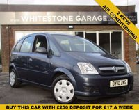 USED 2010 10 VAUXHALL MERIVA 1.6 CLUB 16V 5d 100 BHP 2 KEYS, AIR CONDITIONING. LOVELY CAR
