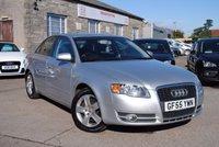 2005 AUDI A4 1.8 T SE 4d AUTO 161 BHP £1495.00