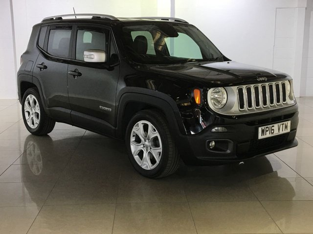 View our 2016 16 JEEP RENEGADE 1.6 M-JET LIMITED 5d 118 BHP
