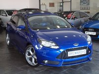 USED 2012 62 FORD FOCUS 2.0 ST-2 5d 247 BHP SUNROOF+LEATHER+STYLE PK+FSH