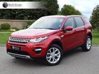 USED 2016 16 LAND ROVER DISCOVERY SPORT 2.0 TD4 HSE 5d AUTO 180 BHP  VAT QUALIFYING VAT QUALIFYING  LOW MILEAGE AUTOMATIC PANORAMIC SUNROOF
