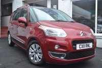 USED 2011 11 CITROEN C3 PICASSO 1.6 PICASSO EXCLUSIVE HDI 5d 90 BHP STUNNING LOW MILEAGE C4 PICASSO WITH TOP SPEC