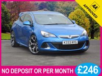 USED 2012 VAUXHALL ASTRA 2.0 VXR 3dr 276 BHP 20 INCH ALLOYS LEATHER PHONE DAB