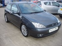 USED 2002 52 FORD FOCUS 2.0 ST 170 3d 173 BHP