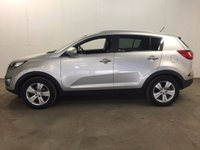 USED 2011 61 KIA SPORTAGE 1.7 CRDI 2 5d 114 BHP PAN ROOF LEATHER CRUISE BLUETOOTH FSH NO FINANCE REPAYMENTS FOR 2 MONTHS STC. PANORAMIC SUNROOF. STUNNING SILVER MET WITH PART BLACK LEATHER TRIM. CRUISE CONTROL. 17 INCH ALLOYS. COLOUR CODED TRIMS. PRIVACY GLASS. PARKING SENSORS. BLUETOOTH PREP. CLIMATE CONTROL. TRIP COMPUTER. R/CD/MP3 PLAYER. 6 SPEED MANUAL. MOT 09/18. FULL SERVICE HISTORY. FCA FINANCE APPROVED DEALER. TEL 01937 849492
