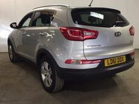 USED 2011 61 KIA SPORTAGE 1.7 CRDI 2 5d 114 BHP PAN ROOF LEATHER CRUISE BLUETOOTH FSH PANORAMIC SUNROOF. STUNNING SILVER MET WITH PART BLACK LEATHER TRIM. CRUISE CONTROL. 17 INCH ALLOYS. COLOUR CODED TRIMS. PRIVACY GLASS. PARKING SENSORS. BLUETOOTH PREP. CLIMATE CONTROL. TRIP COMPUTER. R/CD/MP3 PLAYER. 6 SPEED MANUAL. MOT 09/18. FULL SERVICE HISTORY. FCA FINANCE APPROVED DEALER. TEL 01937 849492