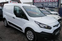 USED 2016 16 FORD TRANSIT CONNECT 1.6 200 P/V 1d 74 BHP BLUETOOTH, 1 OWNER FROM NEW. F.S.H