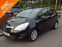 2010 VAUXHALL MERIVA 1.4 EXCLUSIV 5dr, Full Service History £4290.00