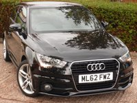 USED 2012 62 AUDI A1 1.4 TFSI S LINE 3d 122 BHP BEAUTIFUL LOW MILEAGE PETROL A1!! NEED FINANCE ? POOR CREDIT WE CAN HELP! JUST ASK! CLICK LINK 24/7!!