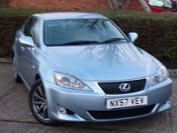 2007 LEXUS IS 2.5 250 SE-L 4d AUTO 204 BHP £5490.00